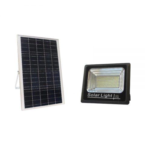 100w pir solar led flood light for outdoor sign billboard lighting